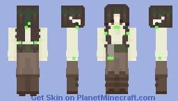 wanderer in the woods Minecraft Skin