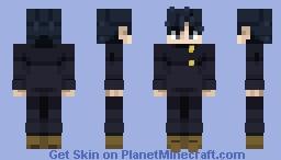 Megumi Fushiguro | Jujutsu Kaisen Minecraft Skin