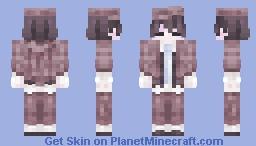 edogawa ranpo Minecraft Skin