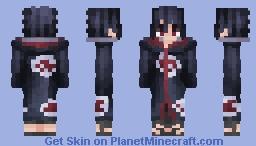 Sasuke Uchiha | Naruto: Shippuden Minecraft Skin
