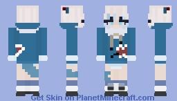 gawr gura Minecraft Skin
