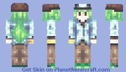 natural harmonia gropius (pokemon) Minecraft Skin