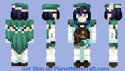 ~ Venti ~ | Genshin Impact Minecraft Skin