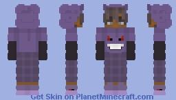 Gengar SSour Minecraft Skin