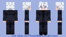 Satoru Gojo | Jujutsu Kaisen Minecraft Skin