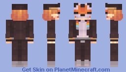 furry?!!? + without mask lol Minecraft Skin