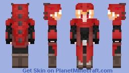 Dragon hunter Minecraft Skin