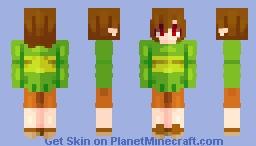 Chara Dreemurr -- Undertale Minecraft Skin