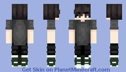Aui (one of my rp friends) Minecraft Skin