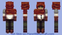 The Unknown Wanderer Minecraft Skin