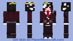 Boo (Ranboo) - Blue Sonder AU Minecraft Skin