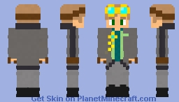 Me in real life (steam punk edition) Minecraft Skin