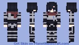 Mikasa Ackerman Season 4 Minecraft Skin