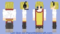 Pizza Guy (Worker) Minecraft Skin
