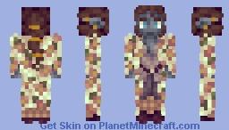 Floral coat Minecraft Skin