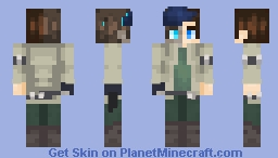 Off To The Jungle Minecraft Skin