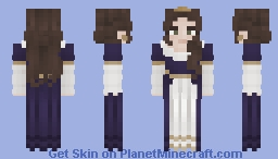 ᠃ ⚘ [FRP] Calendelian Princess ⚘᠃ Minecraft Skin