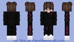 Black Sweater Eboy Minecraft Skin