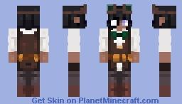 Curious.., very curious. - Steampunk Blacken Minecraft Skin