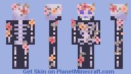 ~~Floral Skeleton~~ Minecraft Skin