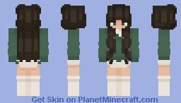 green sweater girl :) Minecraft Skin