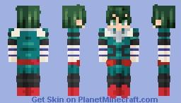 Izuku Midoriya - My Hero Academia (CE) Minecraft Skin