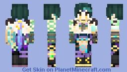 Xiao (Genshin Impact) Minecraft Skin
