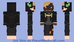 Dream - Blue Sonder AU Minecraft Skin