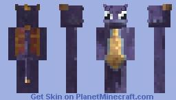 Spyro The Dragon (PS1 version) Minecraft Skin