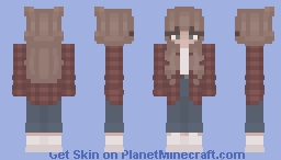 the girl u always see on pinterest Minecraft Skin