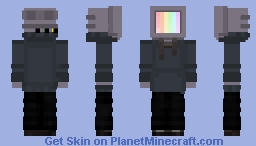TV head Minecraft Skin