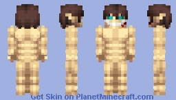 The Attack Titan - DECLARATION OF WAR Edition (S4) Minecraft Skin