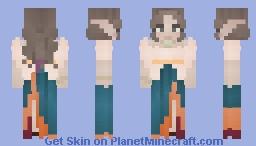 [LOTC] 𝓤𝓶𝓪 𝓵𝓲𝓴𝓮 𝓣𝓱𝓾𝓻𝓶𝓪𝓷 Minecraft Skin