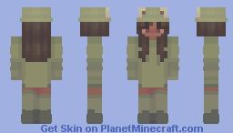 Froggy Girl Aesthetic Minecraft Skin