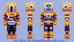 Divebot (ThatGuyJake Skin Collab) Minecraft Skin