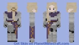 Armored 'Aheral Minecraft Skin