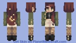 moon and stars // rce Minecraft Skin