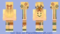 je cours Minecraft Skin