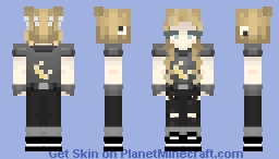 Amber (me in real life) Minecraft Skin