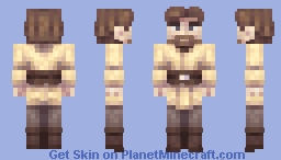 Obi-Wan Kenobi Minecraft Skin
