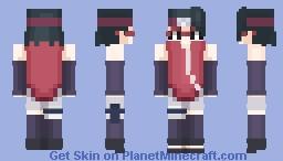 Sarada Uchiha Minecraft Skin