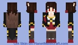 Azur Lane Akagi Minecraft Skin