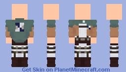 AOT | Survey Corps Minecraft Skin