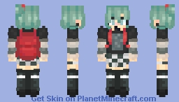 E-Girl, Miku Minecraft Skin