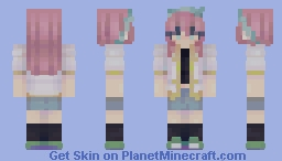 aubrey - omori (real world ver.) Minecraft Skin