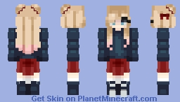 Charlee Ehscloud (Maddie + Charlee combined) Minecraft Skin
