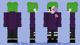 Joker boy Minecraft Skin