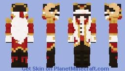 Captain puffy skin remake Minecraft Skin