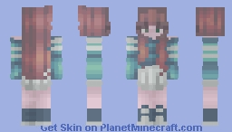collab with StrawberrySkins !!! Minecraft Skin