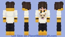 Cute Dog Sweater Eboy Minecraft Skin